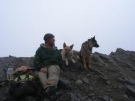 Me and companions on Handie's Peak