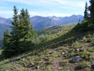 On a hike to Gothic Peak near Crested Butte, Colorado