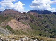 Elk Mountains during summer