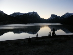 Green River Lakes in the Wind River Range, Wyoming