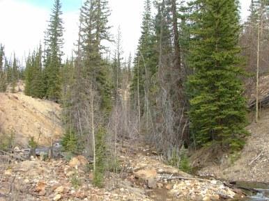 Slumgullion earth flow, just outside of Lake City, Colorado