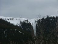 High ridge just south of Lake City
