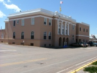 Rio Arriba County Courthouse located in Tierra Amarill, New Mexico