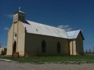 Church in Tierra Amarilla, New Mexico