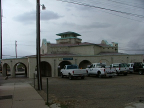 Used by Amtrack, this train station used to serve the Atchison, Topeka and Santa Fe