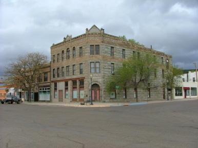 One of the more substantial buildings in Raton, NM