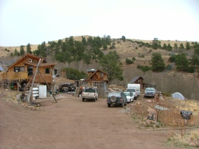 Overall view of the Mission: Wolf village