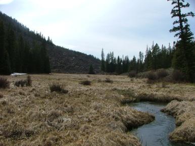 Razor Creek in May of 2006