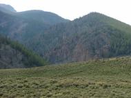 Razor Creek flow through this canyon