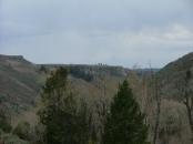 East Elk Creek, looking downstream towards the south
