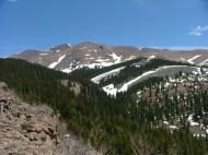 Antora Peak's west slope