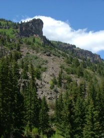 More unusual erosion in the West Elk breccia