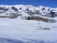 Elk Mountains in winter