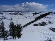 Looking east from Signal Peak