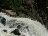 Spring runoff on Currecanti Creek