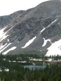 Lamphier Lake just below Fossil Ridge
