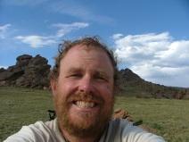 Self portrait number one, near Bison Peak