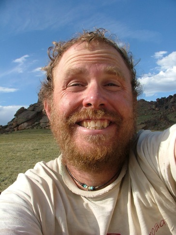 Self portrait number two near Bison Peak
