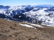 U.S. 6 between Arapahoe Basin Ski Area and Loveland Pass
