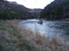 The Gunnison River downstream