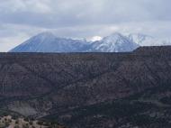 Western peaks of the West Elk Mountains