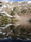Mill Lake acts as a mirror surface