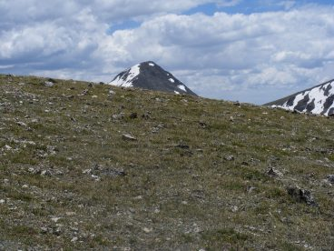 I think this is Iowa Peak, from above Elkhead Pass