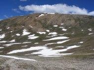 Mount Belford seen from just below Elkhead Pass