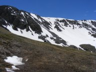 The upper reaches of Missouri Gulch