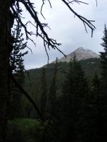 Unnamed peak along Texas Creek
