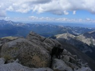 The Colorado Rocky Mountains in July