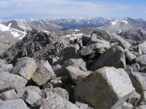 From the summit of Mount Shavano looking north. Is this real?