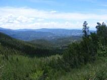 Looking back down Trail Gulch