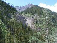 Small tributary of Bear Creek in the San Juan Mountains
