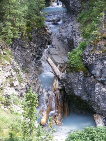 South Fork of Bear Creek tumbles down through the volcanic strata of the San Juan Mountains