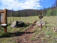 The Eddiesville Trailhead