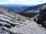 Looking south from Gunsight Pass