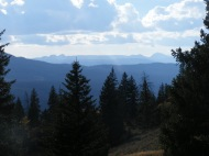 Gros Ventre Mountains from the summit of the Highline Trail