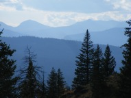 Distant horizon is the high points of the Gros Ventre Mountains