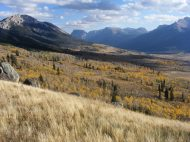 Along the Highline Trail in the Wind River Range