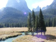 The Green River below Squaretop Mountain