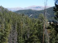 High peaks in the greater Yellowstone region