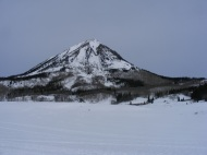 Gothic Mountain clad in winter's beauty