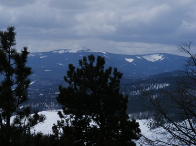 Long Branch Baldy as seen from Old Monarch Pass