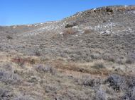 In Haystack Gulch towards its upper end