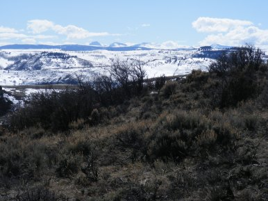 San Juan Mountains in the distance