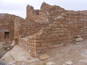 Numerous rooms make up this ruin at the Cajon Unit of Hovenweep National Monument