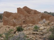 Part of the village that is now the Cajon Unit, Hovenweep National Monument