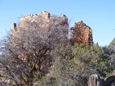 Ruins on the horizon, Holly Unit, Hovenweep National Monument