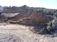 Ruins on sandstone, Holly Unit
